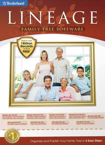 Lineage Family Tree Software (for Windows)