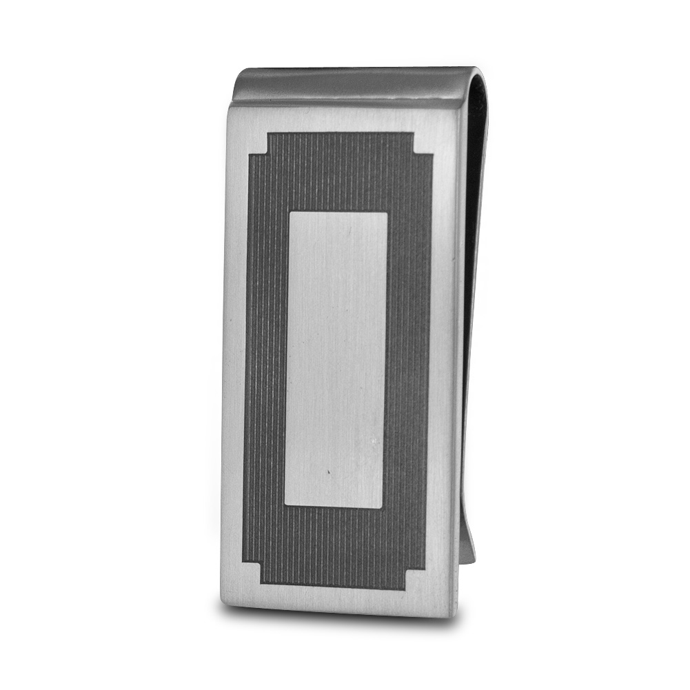 Seville Slim Money Clip (Silver)