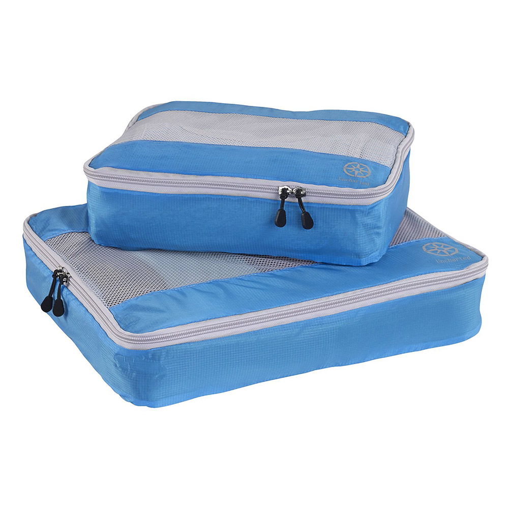 Uncharted Ultra-Lite Packing Cube 2 Piece Set (Electric Blue)