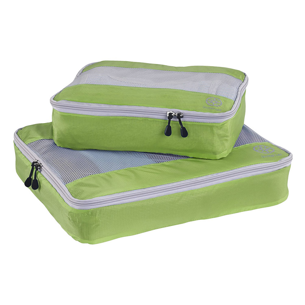 Uncharted Ultra-Lite Packing Cube 2 Piece Set (Green)