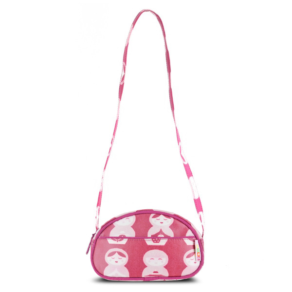 Penny Scallan Girls Purse/Handbag (Pink Russian Doll)