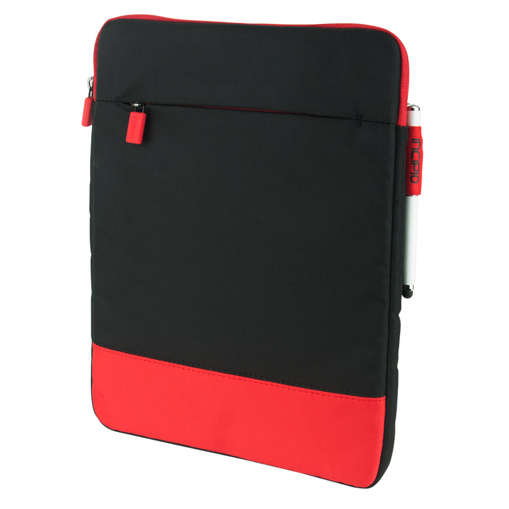 Incipio: Asher Nylon Sleeve Case for 11 inch Devices (Red / Black)