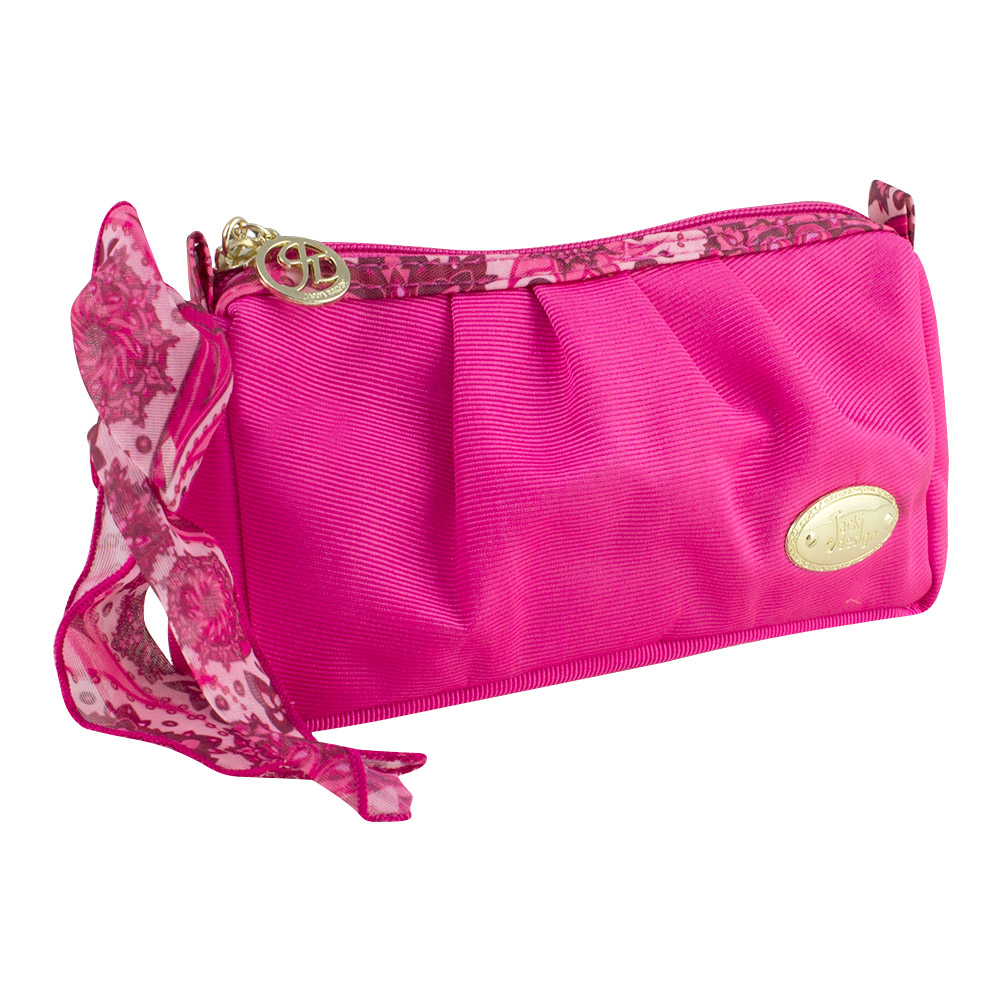 Jacki Design Summer Bliss Compact Cosmetic Bag (Hot Pink)
