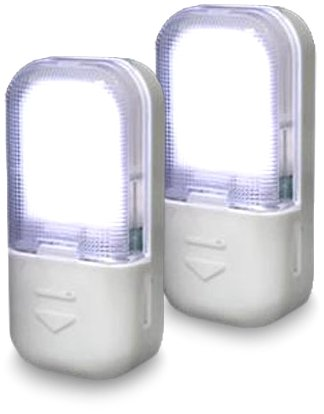 Amerelle 71185 LED Drawer and Cabinet Lites 2-Pack (White)